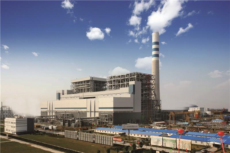 阳城电厂主厂房维护和新建栈桥